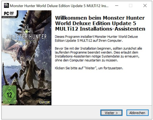 Monster Hunter World Deluxe Edition Update 5 MULTi12 - x X
