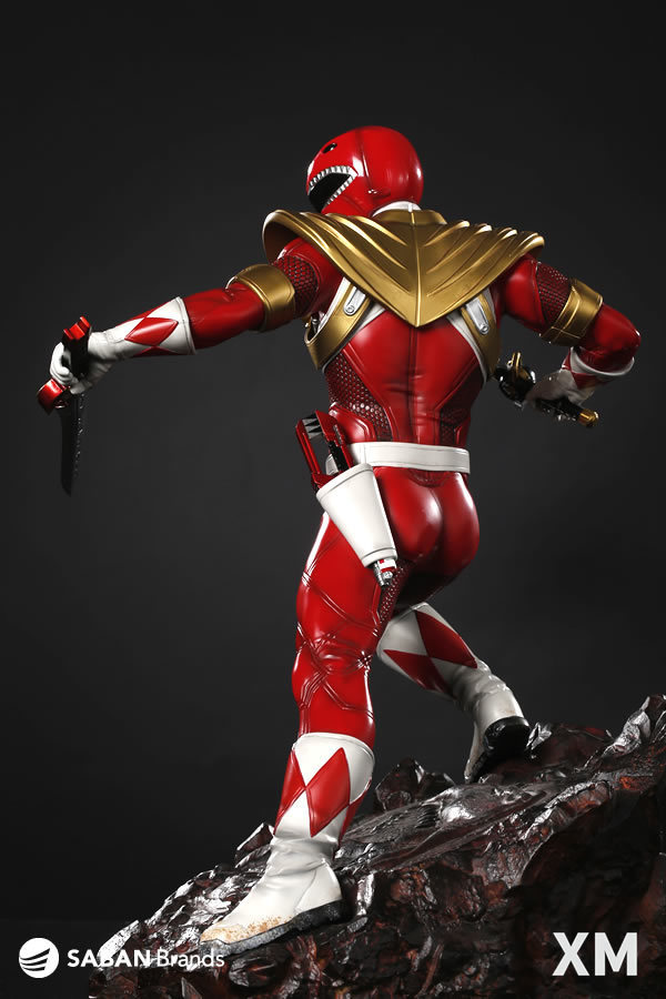 Premium Collectibles : Power Ranger Red 8aljqty