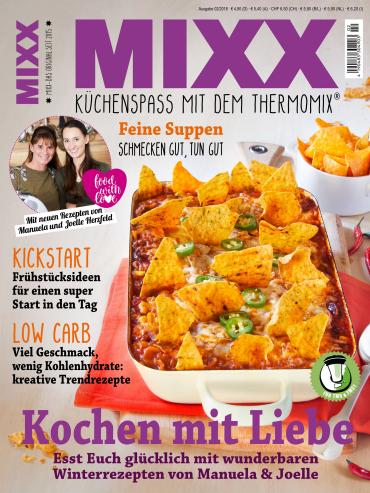 : Mixx Magazin (Küchenspass mit dem Thermomix) Januar-Februar No 02 2018