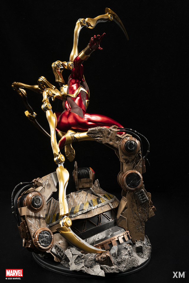 Premium Collectibles : Iron-spiderman** 8hljhs