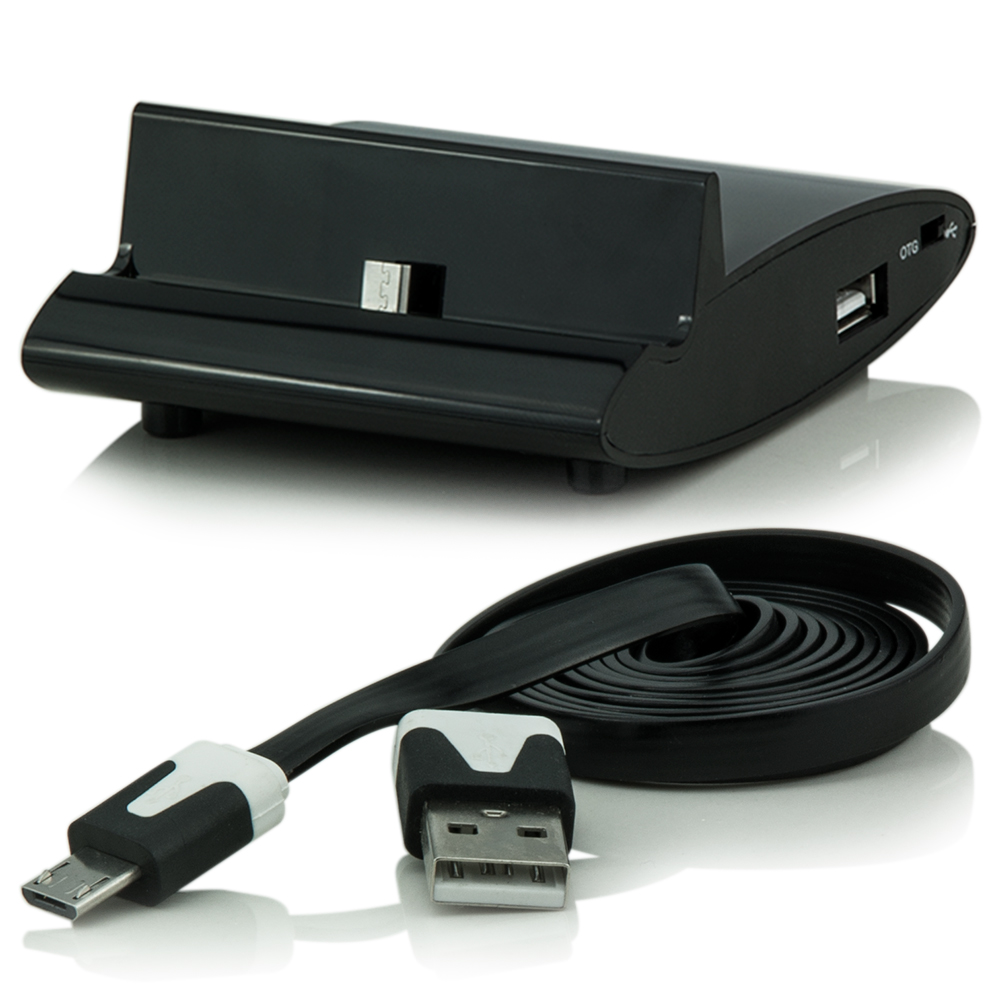 micro usb kabel dockingstation docking otg halter f huawei b199 ascend p7 mate 7 ebay. Black Bedroom Furniture Sets. Home Design Ideas