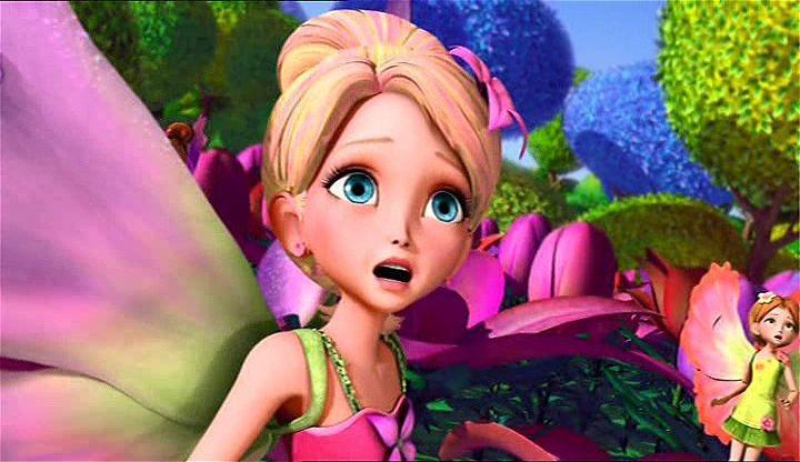 Barbie Parmak Kız Ekran Görüntüsü 1