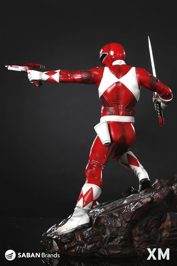 Premium Collectibles : Power Ranger Red 8ulogh