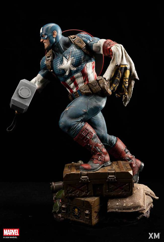 Premium Collectibles : Captain America Ultimate 1/4 Statue 8zcjet