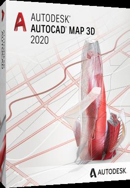 Autodesk AutoCAD MAP 3D 2020 - ITA