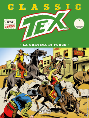 Tex Classic - Volume 54 - La cortina di fuoco (03/2019)