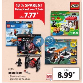 Lidl Kleine Lego Sets Im Angebot Ab 2 Stück Je 777 Euro Brick