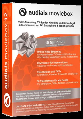 : Audials Moviebox v12.1.5200.0 - Inkl. Serial