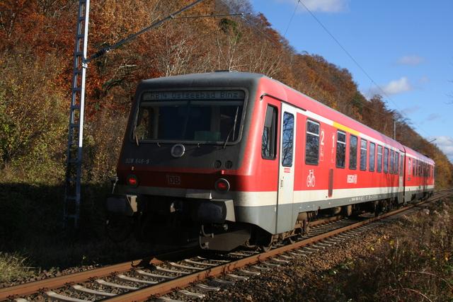 928 646-9 bei Lietzow (Rügen) am Jasmunder Bodden