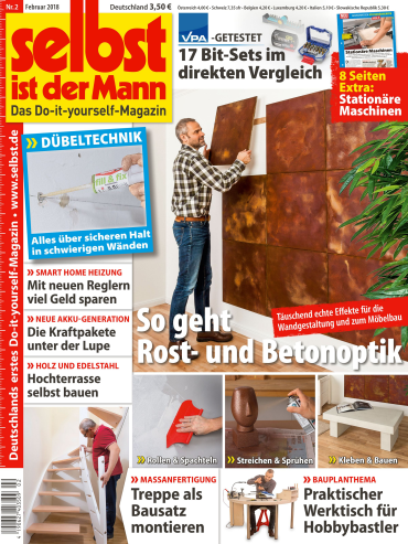 : Selbst ist der Mann Heimwerkermagazin Februar No 02 2018