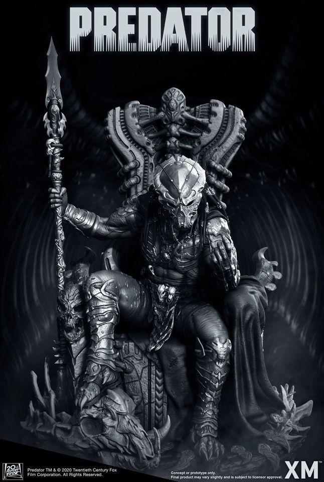 Premium Collectibles : Predator on Throne 94885227_258097572878a2kc5