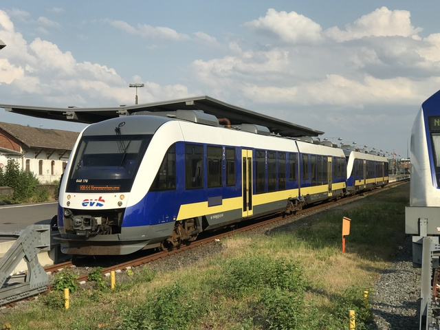 95 80 0648 176-5 D-EVB RB 33 EVB 82674 Cuxhaven START