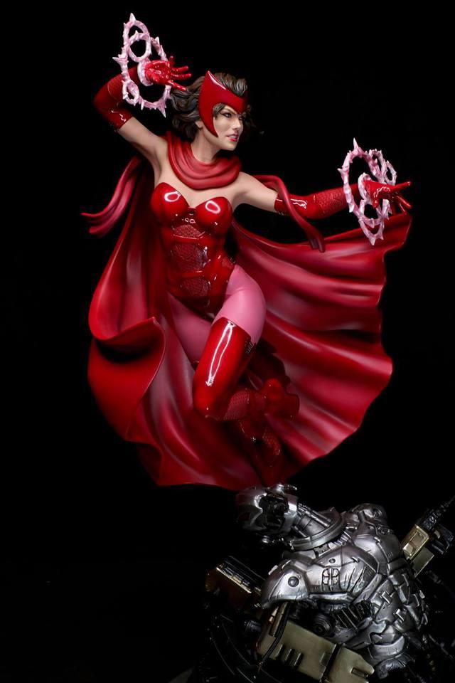 Premium Collectibles : Scarlet Witch** 95vkdp