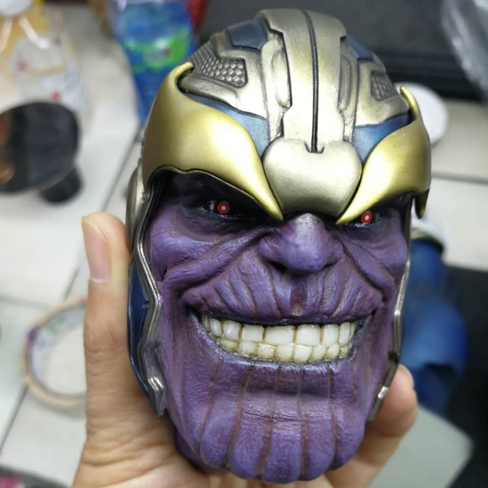 Premium Collectibles : Thanos (Stand alone) 98001729_260455751976t6jl2