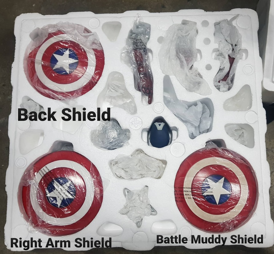 Premium Collectibles : Captain America 1/3 98343263_915567348869mvji5