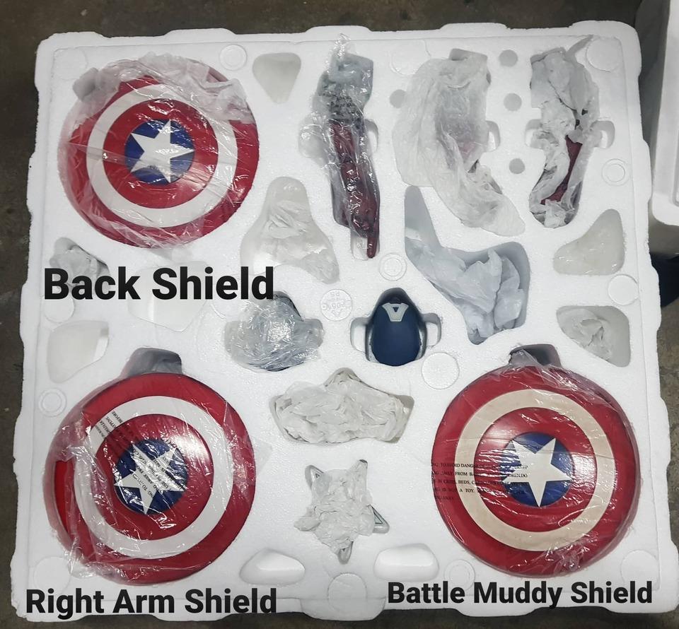 Premium Collectibles : Captain America 1/3 98343263_915567348869mvji5