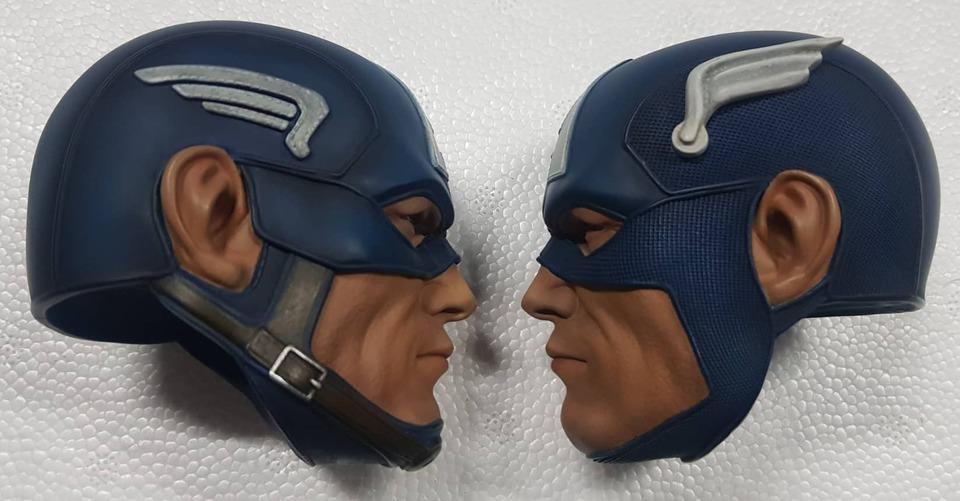 Premium Collectibles : Captain America 1/3 98343406_915568062202x8kl1