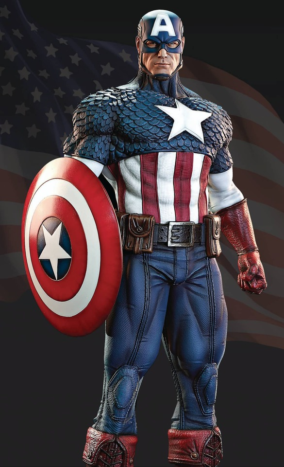 Premium Collectibles : Captain America 1/3 99101194_915584418867cuk8j