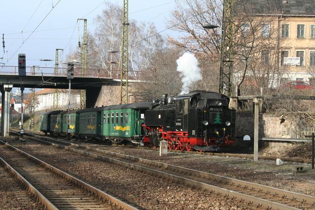 99 1761-8 Einfahrt Radebeul Ost