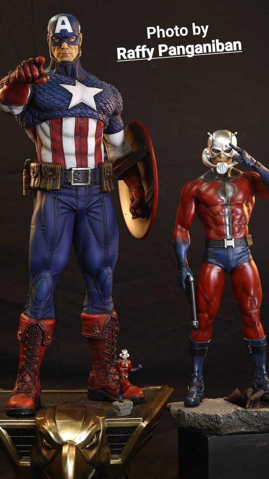 Premium Collectibles : Captain America 1/3 99288983_915177882241jjj06
