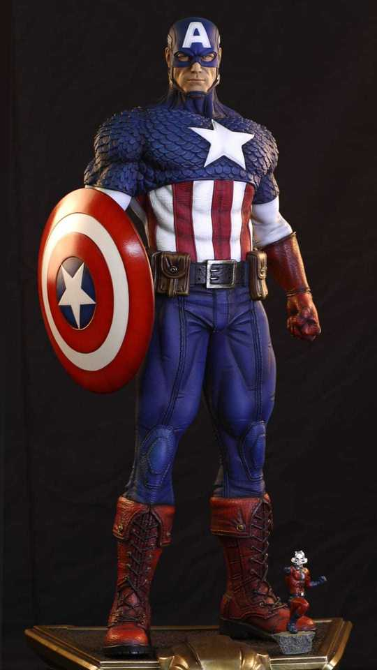 Premium Collectibles : Captain America 1/3 99421176_9151735055752tjct