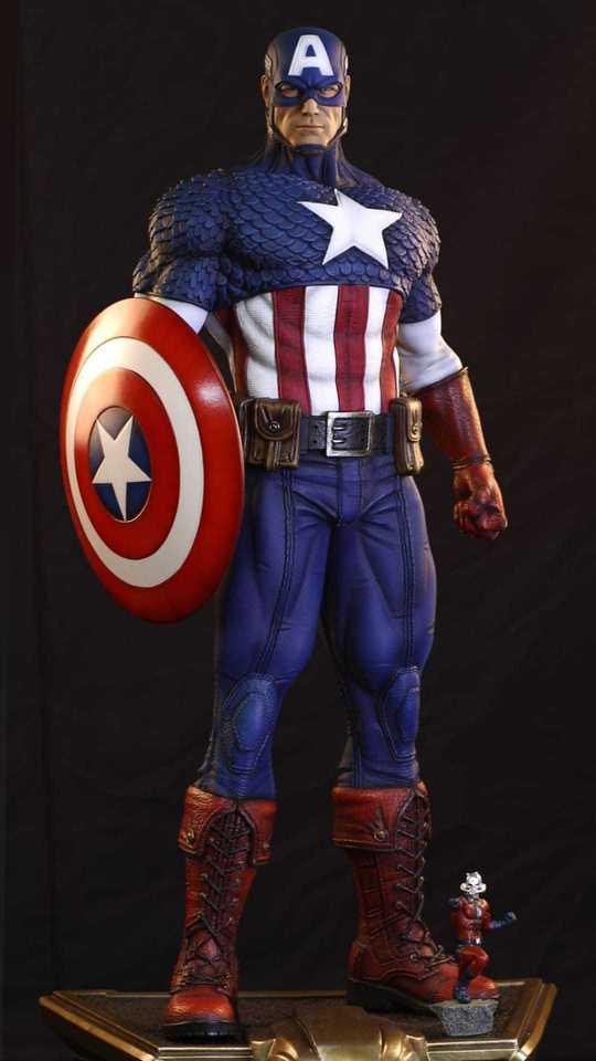 Premium Collectibles : Captain America 1/3 99421176_9151735055752tjct