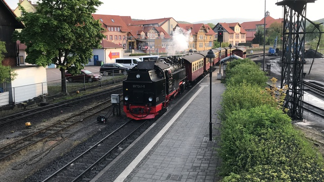 99 7241-5 P 8938 Einfahrt Wernigerode