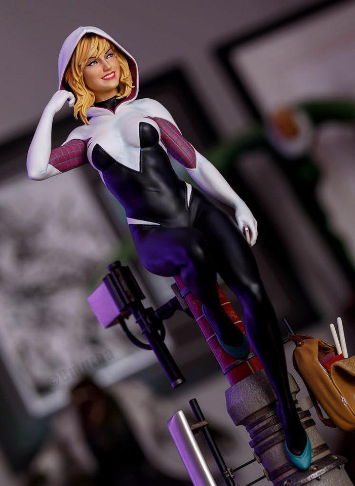 Premium Collectibles : Spider-Gwen 9amdp0o