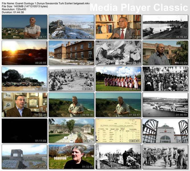 Esaret Günlüğü 1. Dünya Savaşı'nda Türk Esirleri Ekran Görüntüsü 1