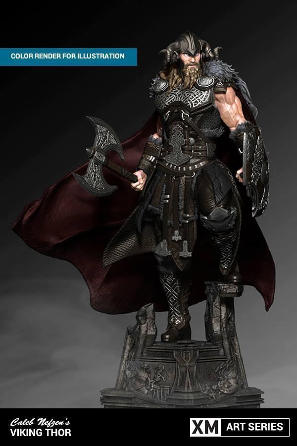 Premium Collectibles : Thor by Caleb Nefzen** 9thsfi