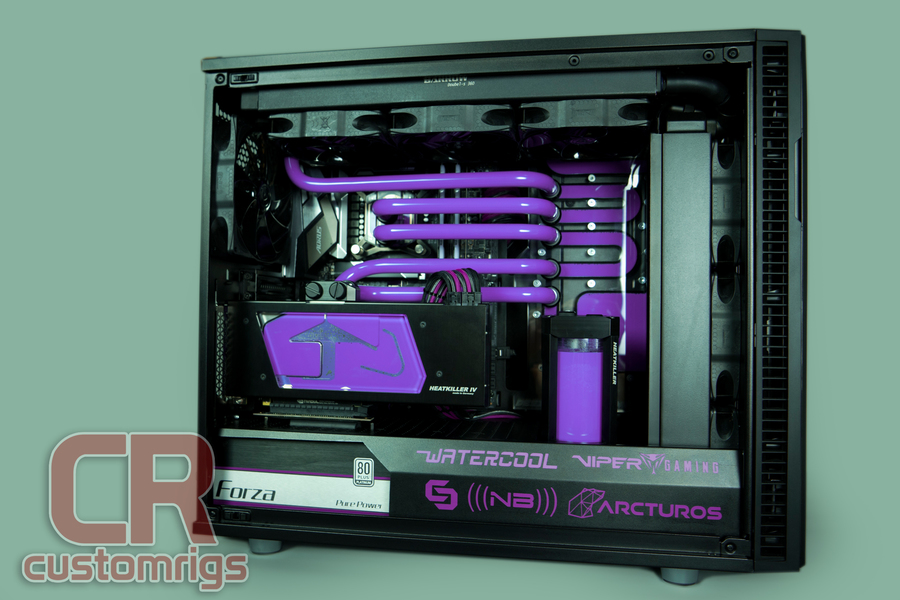 Mod Of The Month Purple Pill Fractal Define R6 Build