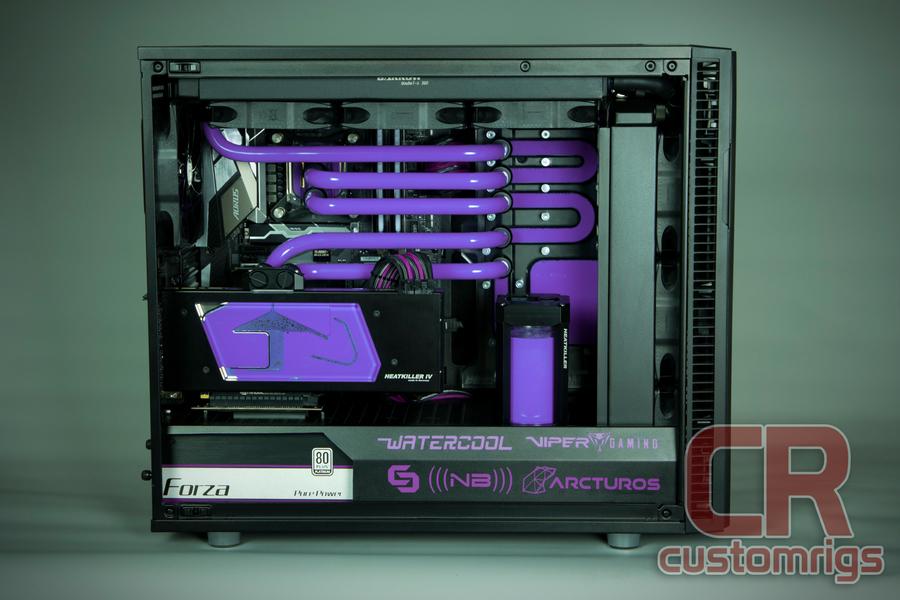 Mod Of The Month Purple Pill Fractal Define R6 Build