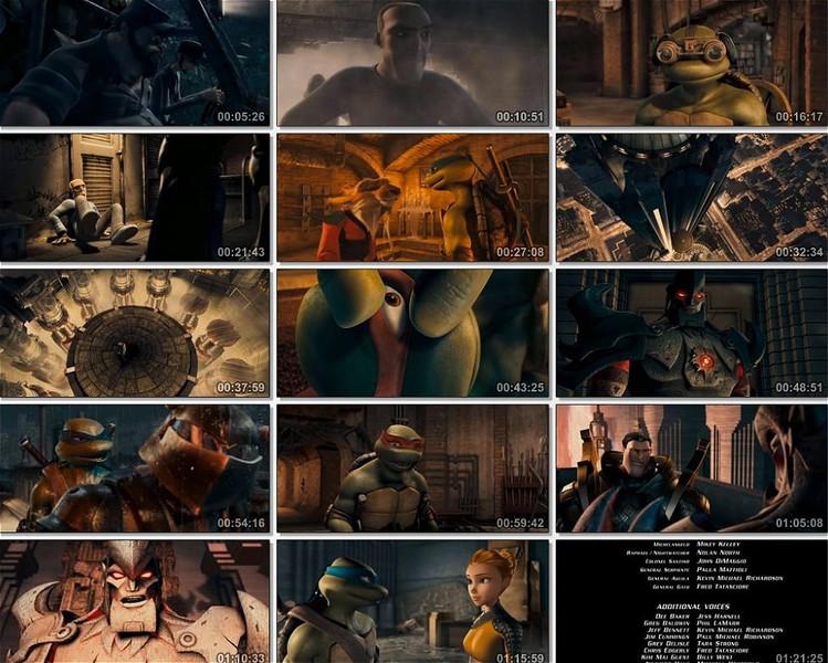 Ninja Kaplumbağalar Ekran Görüntüsü 1