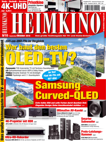 Heimkino Magazin September-Oktober No 09,10 2018