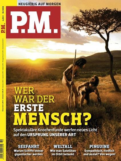:  PM Wissensmagazin (Neugierig auf Morgen) No 10 Oktober 2018