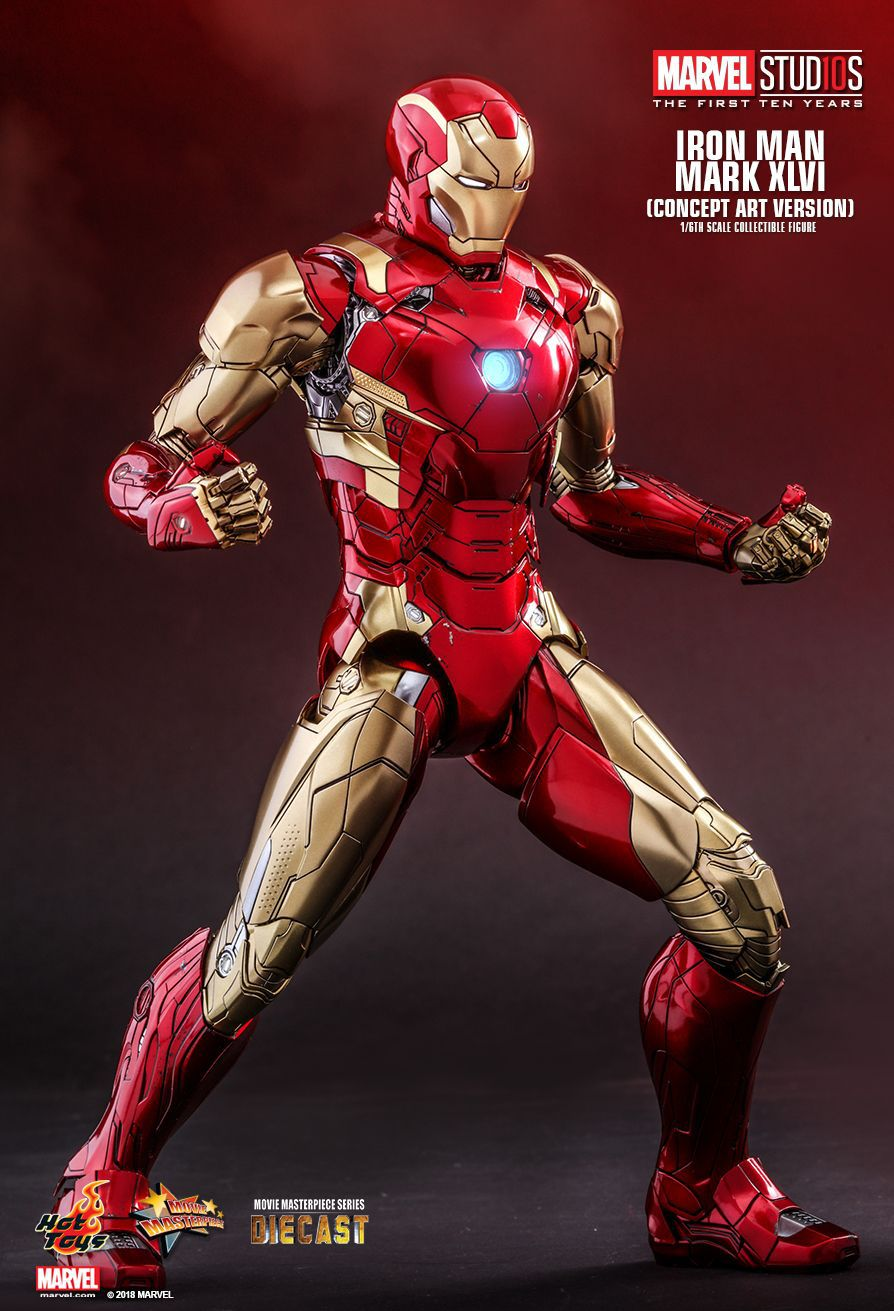 1/6 Figure - IRON MAN XLVI Diecast (Concept Art Version)