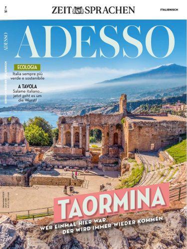 Cover: Adesso Magazin (Die schönsten Seiten auf Italienisch) No 07 2021