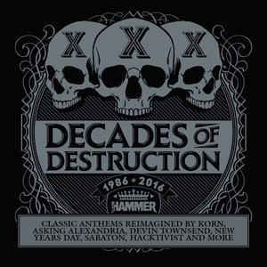 VA - Metal Hammer: Decades of Destruction (2016)