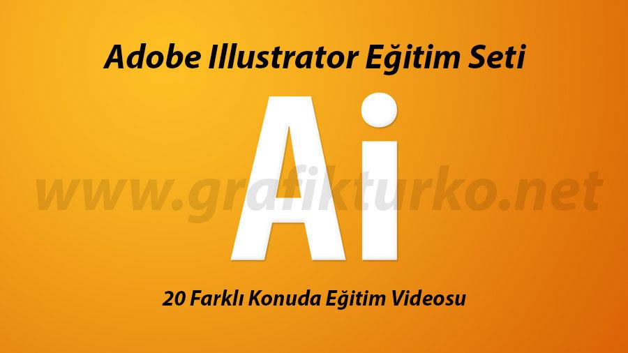 Adobe Illustrator Türkçe Eğitim Seti