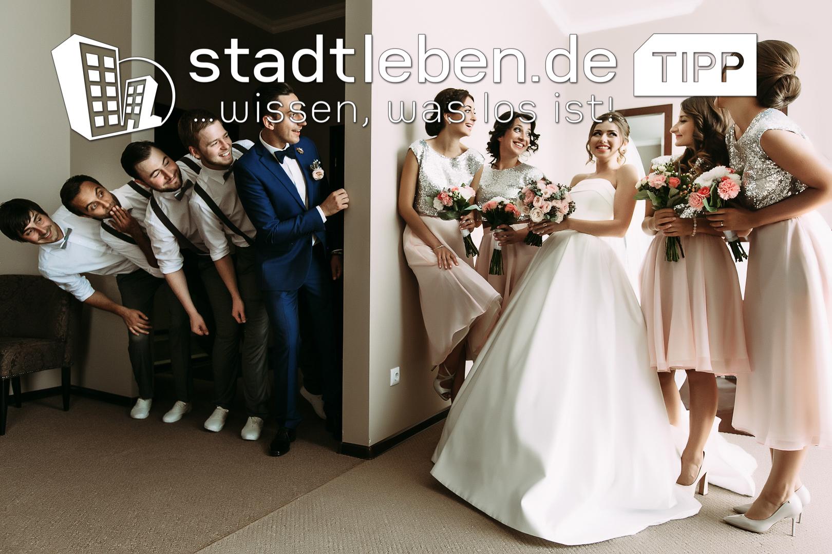 Hochzeit, Familie, Hochzeitspaar