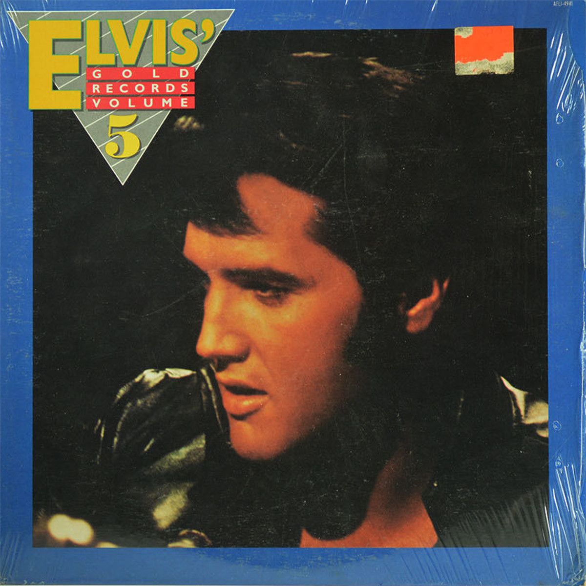 ELVIS' GOLD RECORDS VOL 5 Afl1-4941evdukp