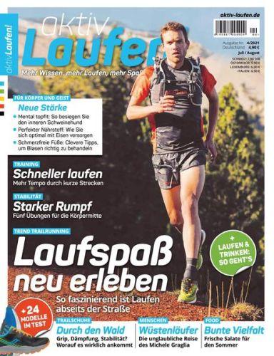 Cover: Aktiv Laufen Magazin No 04 2021