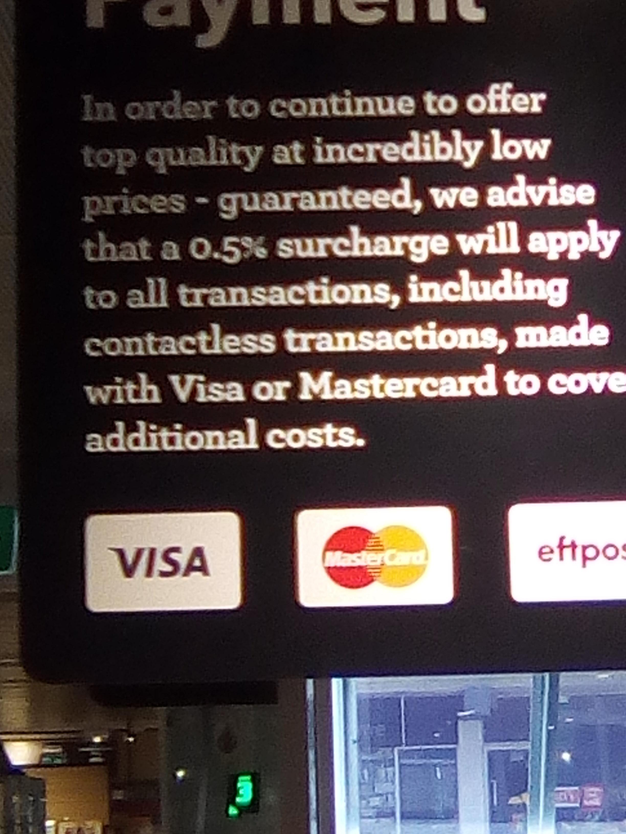 Warum werden die Kosten für Kreditkarten- und PayPal Bezahlung ...