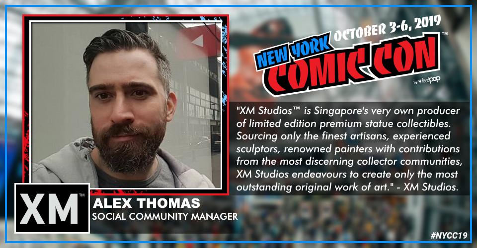 XM Studios: Coverage New York Comic Con 2019 - October 3rd to 6th  Alexnyccaakar
