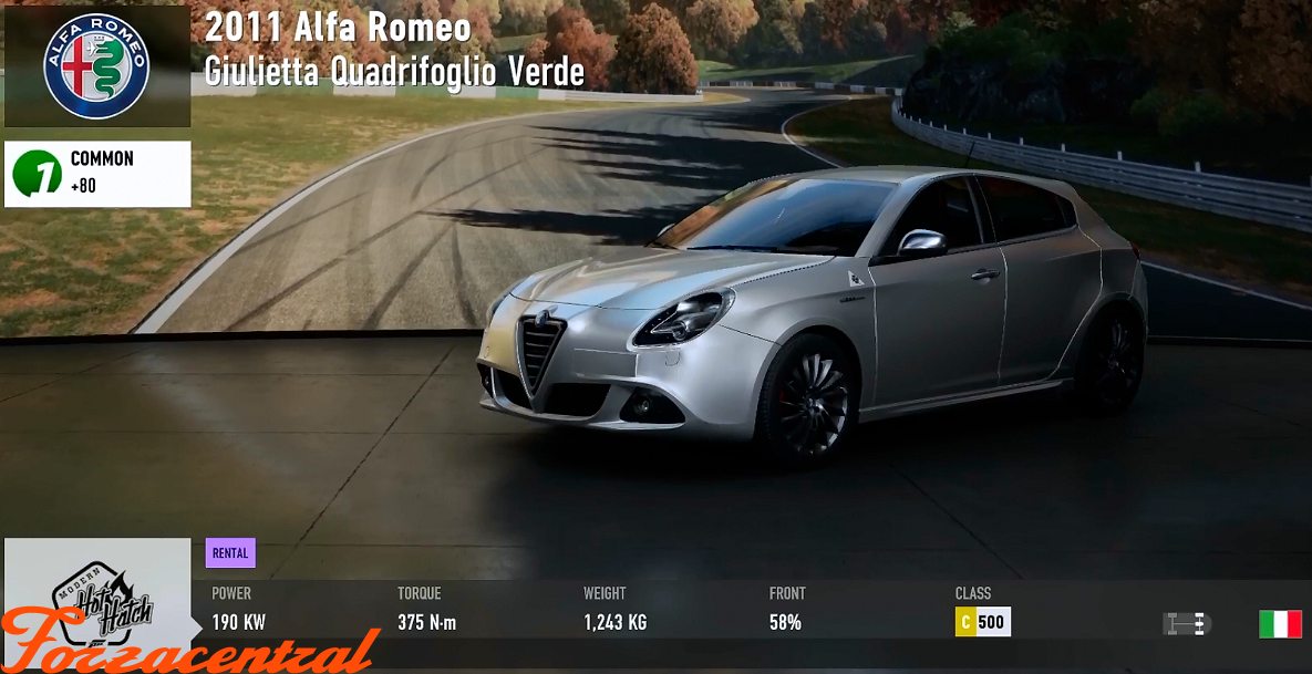 FM7 - Forza Motorsport 7 - Vehicle & Track List(WIP