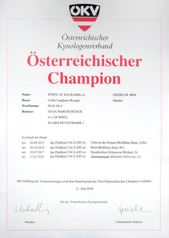 Austrian Champion
