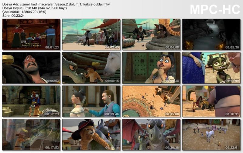 Çizmeli Kedinin Maceraları: 2.Sezon Tüm Bölümler Ekran Görüntüsü 1