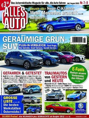 Cover: Alles Auto Magazin No 07-08 Juli-August 2021