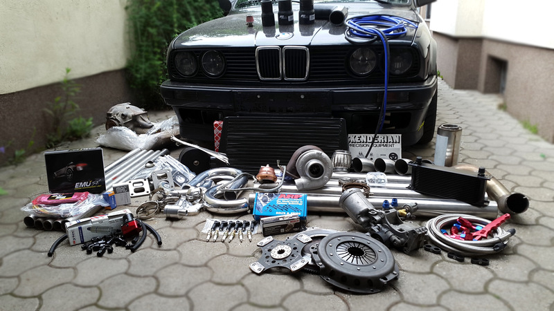 Bmw E30 M50b25 Turbo  Emu  From Austria