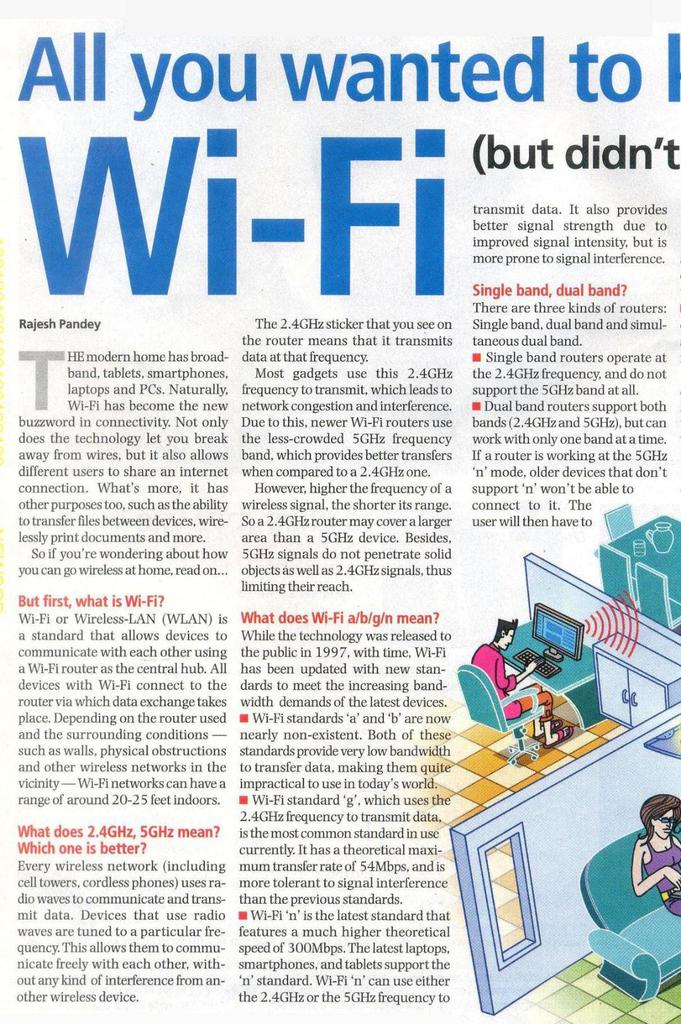 All you wanted to know about Wi-Fi